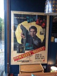 Bullitt - large original poster