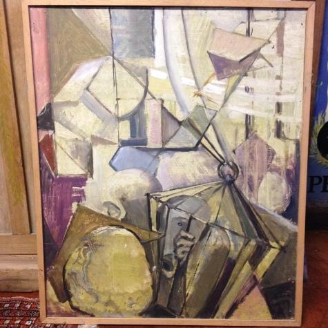 Isobel Barber FRSA 1950's cubist