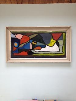original acrylic abstract on board - superb decorative piece superb decrotive piece £120 - Now Sold By James Gilbraith
