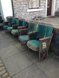 Blackpool cinema seats circa 1930
