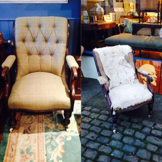 Before and after - now sold