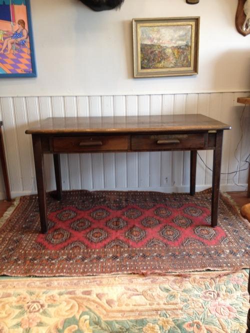 Oak two draw teachers desk ( two available ) £120 each