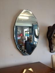 nice clean vintage mirror