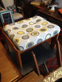 re-up scandi foot stool £60