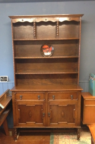 1930's Jacobean style dresser - mint condition - ready to be appreciated £250