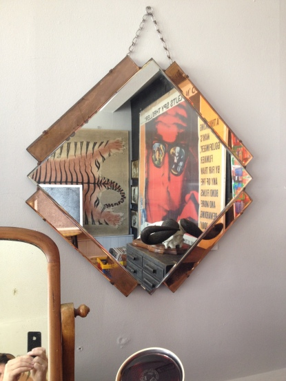 lovely deco mirror £60