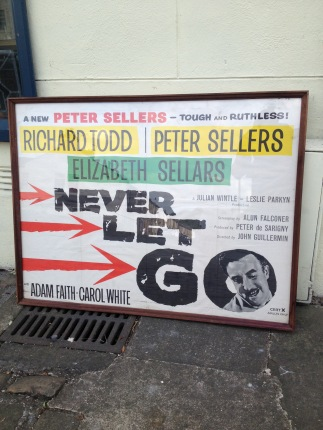 Peter Sellers as the bad guy in this 1960's x rated movie - original poster in frame £70
