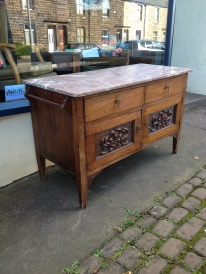 Lovely wash stand - 80cm high - could gain 4cm with the addition of castors - kitchen, bathroom, bedroom - £250