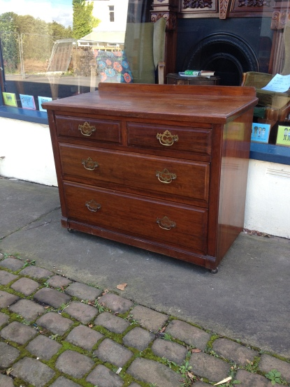 Nice Edwardian chest - time served and ready to go - £150