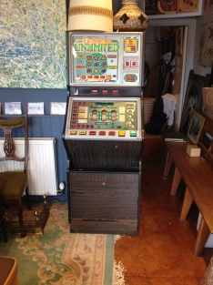 Fully working - two pence nudger ( could also take new 10p's - great money box - all lights work, as does the audio. Comes with the keys. £250