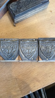 Shooting the past - stamps from the former Heathfield school Blackburn - motto Seek The Truth