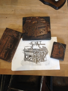 Stunning etched copper lithographs - reclaimed in Blackburn - Not yet for sale