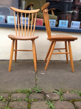 We love these chairs but only have two - always on the hunt for more - 60's Czech - great component's and manufacture - £50 the pair
