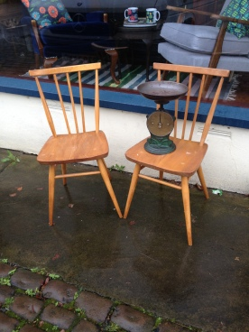 Ercol chairs £80 the pair