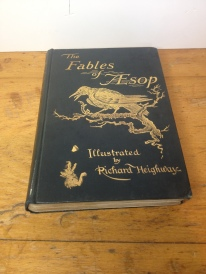 Classic book in fair condition - wonderful illustrations - POA