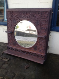 Something that sets the tone and is strikingly different - vintage hand caved Indian import - £400 - superb quality