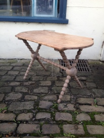 Lovely bobbin leg table £150 - great condition and colour