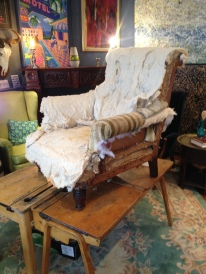 Always looking for Victorian armchairs - currently only one in stock