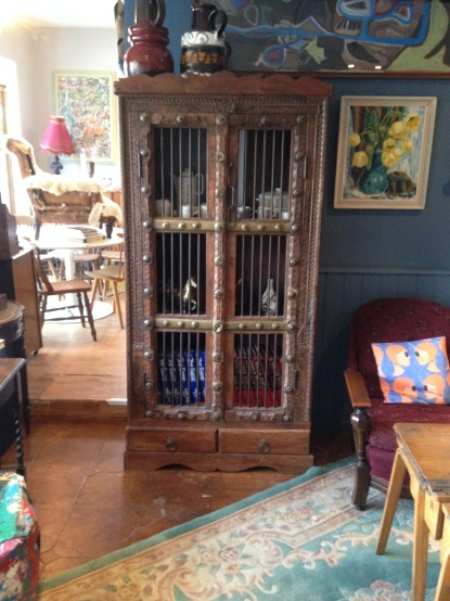 Indian Rosewood cupboard ( was a gin cabinet ! )
