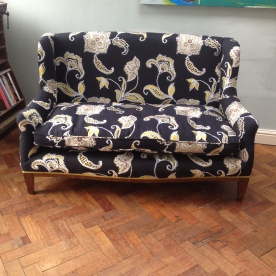 SOLD Gillows Sofa - with cushion seat