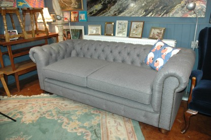 Professionally refurbished and re-upholstered
