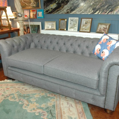 SOLD Professionally refurbished and re-upholstered