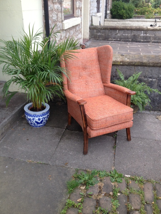 Refurbished & Reupholstered - great size - winter is coming - honest ! £190