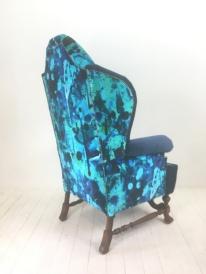 high quality all original - stunning hand printed fabric