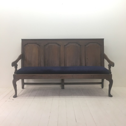 Large Oak bench £495
